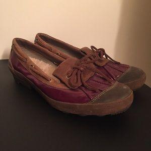 Ugg Australia Ashdale Leather Duck Boat Shoes | 6